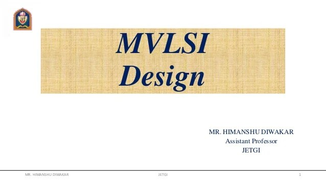 also vlsi design rh slideshare