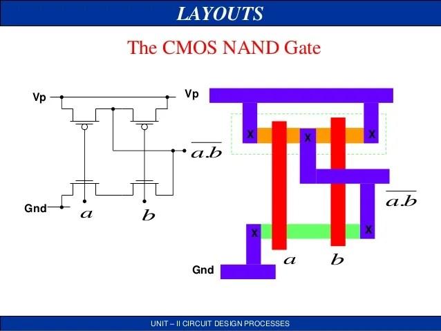 Flipflop Using Cmos Nand Gates Circuit Diagram