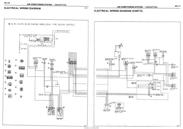 toyota carina e electrical wiring diagram