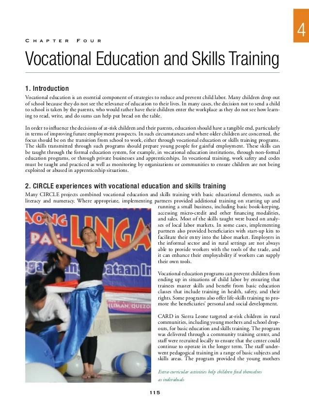 Vocational Skills Training