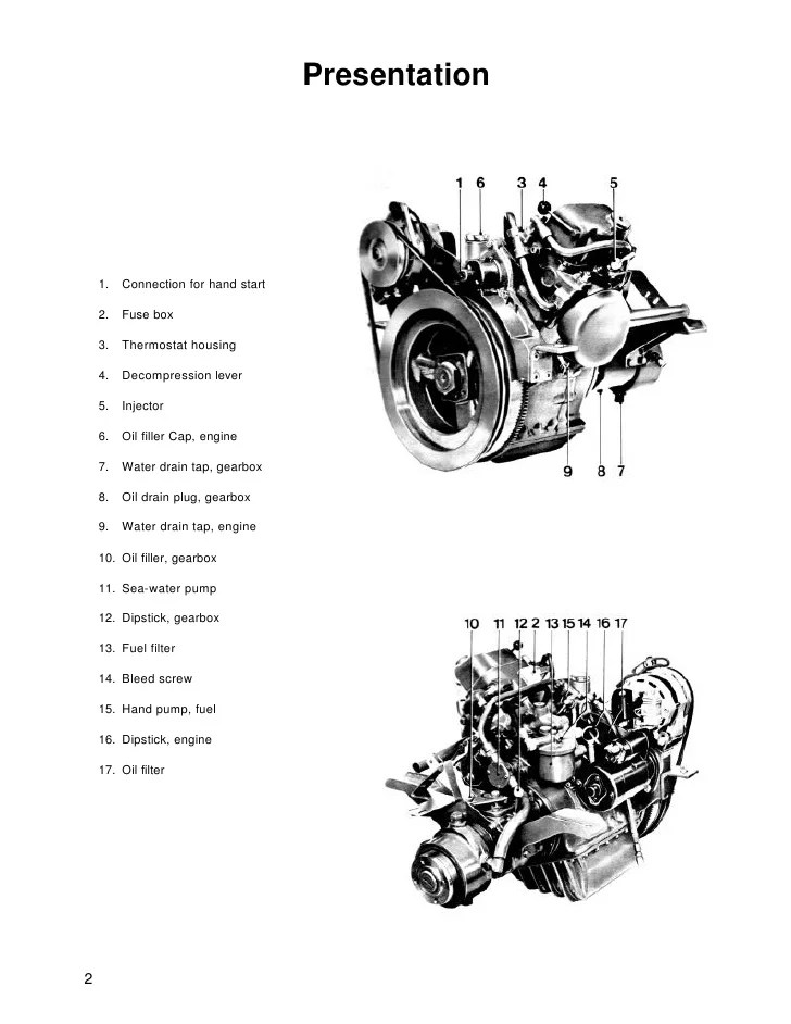 volvo marine diesel engine diagram