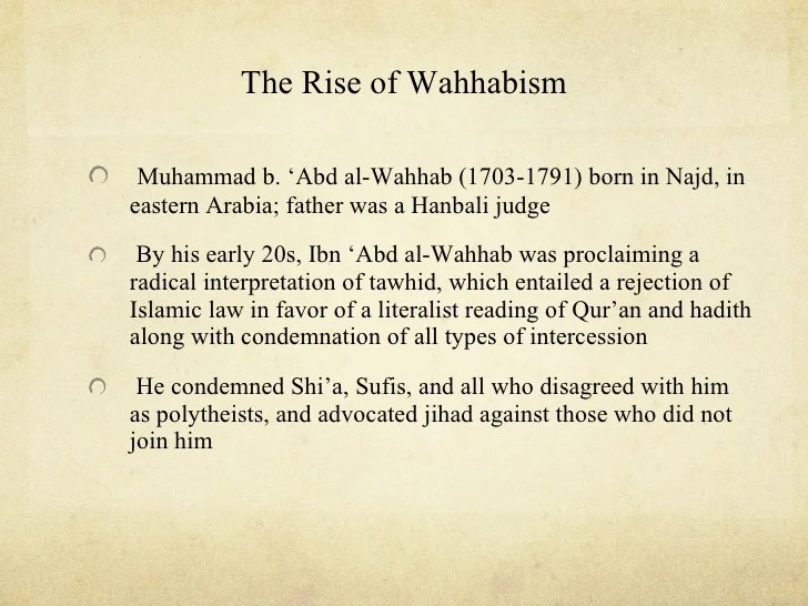 Image result for wahhabism