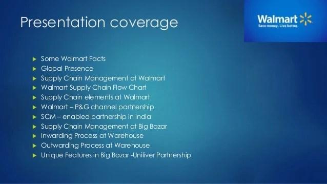 Wal mart   supply chain management members also walmart rh slideshare