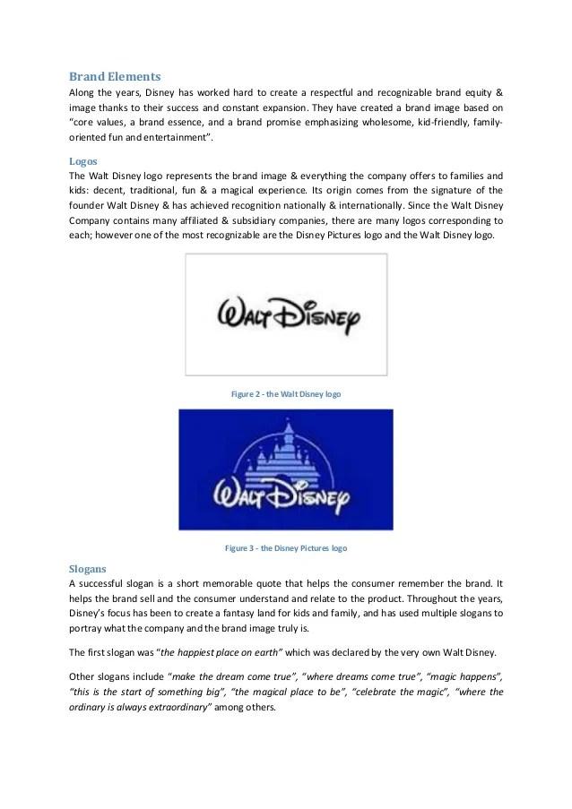 Brand Management Walt Disney Case Study