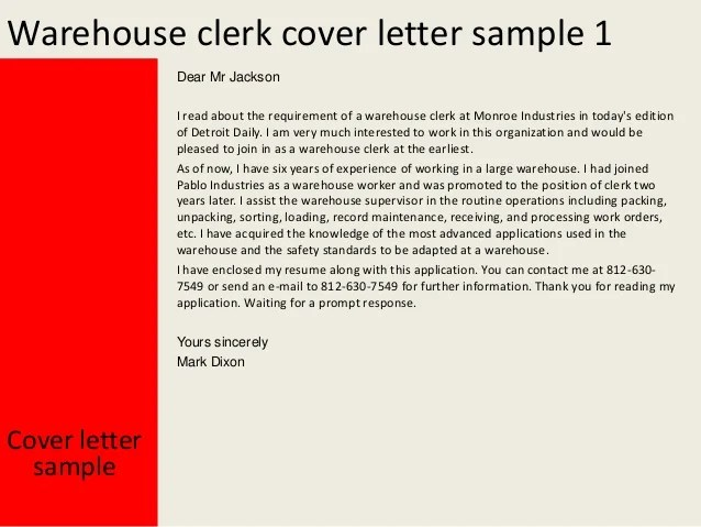 sample application cover letters
