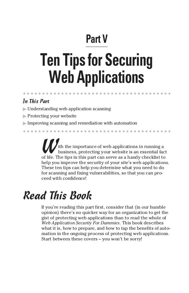 Website Security Dummies