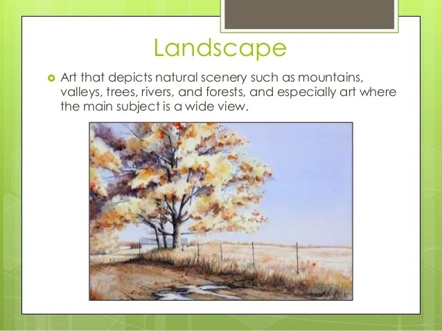 watercolor landscape powerpoint