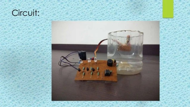 Water Full Alarm Circuit Compose Of 555 Audiocircuit Circuit