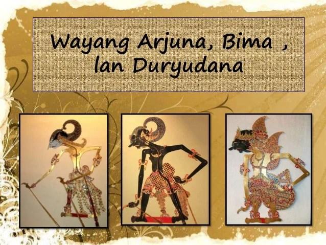 Gambar Wayang Lan Gamane