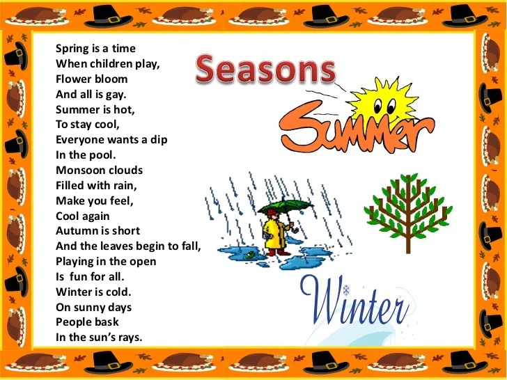 also weather and seasons rh slideshare