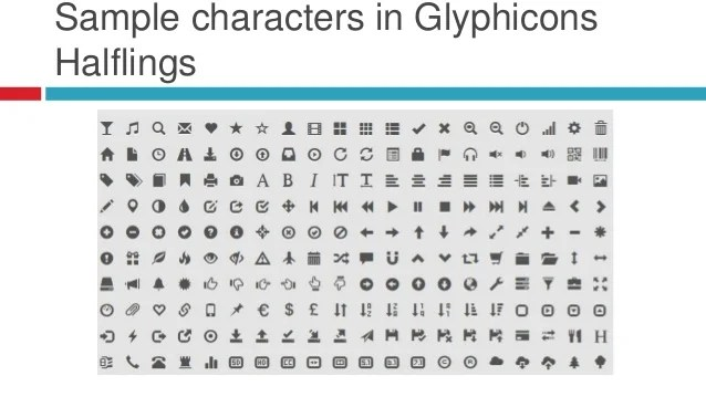 Using Webfontbased Glyphs In Your Joomla Website