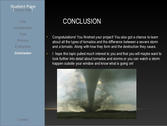 tornado power point