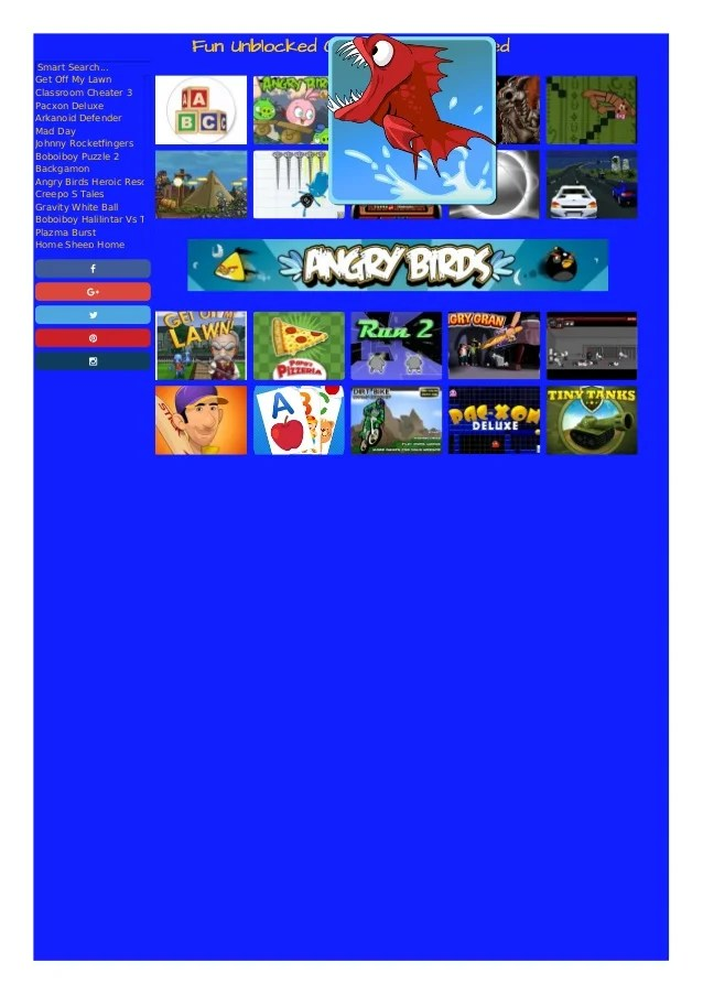 Fun Unblocked Games At Funblocked