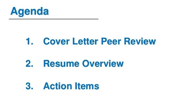 Week 4 Cover Letter Peer Review