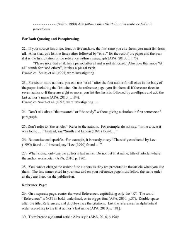 Week4b Pdffile More Notes On Apa Referencing