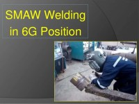 Tips: Weld steel pipe in 6G using smaw