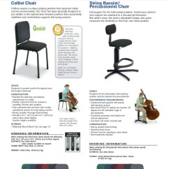 Wenger Orchestra Chair Conference Room Chairs Adjustable Lumbar Pad 12