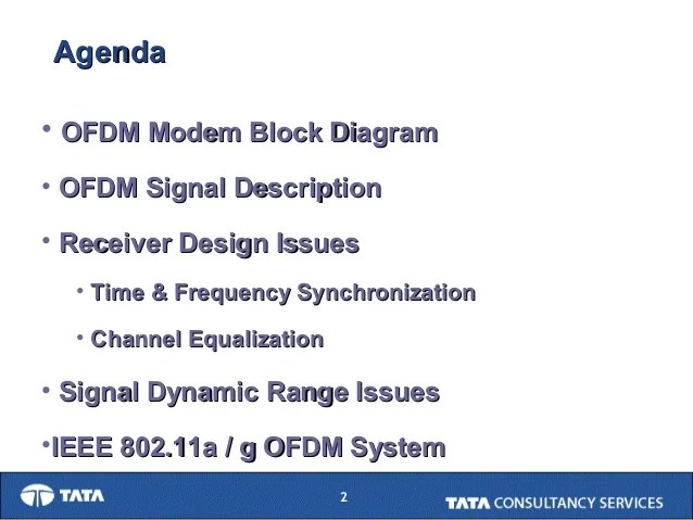 ofdm transmitter and receiver block diagram mitsubishi mirage radio wiring ncc2004 tutorial part ii-apal