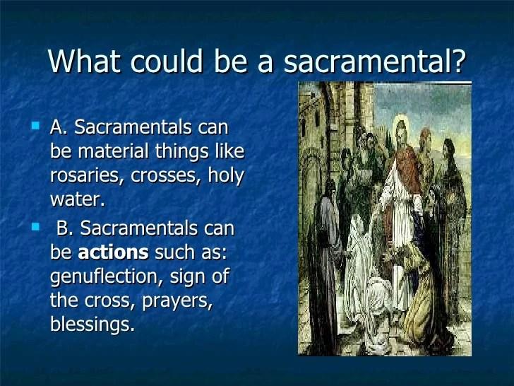 What Is A Sacramental