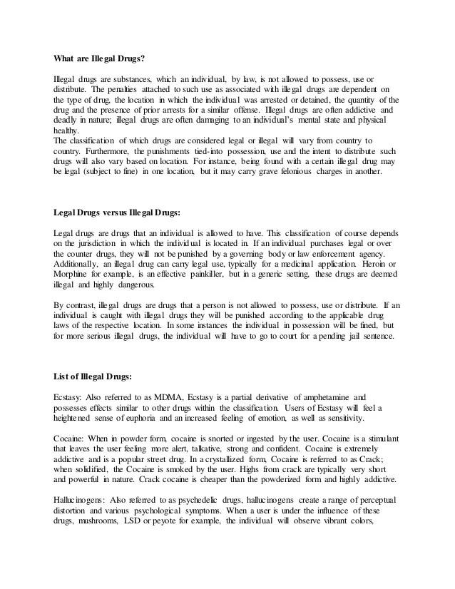 "Essay Drugs Politically Depressed"" The Ranch Chimp Journal U Drug"