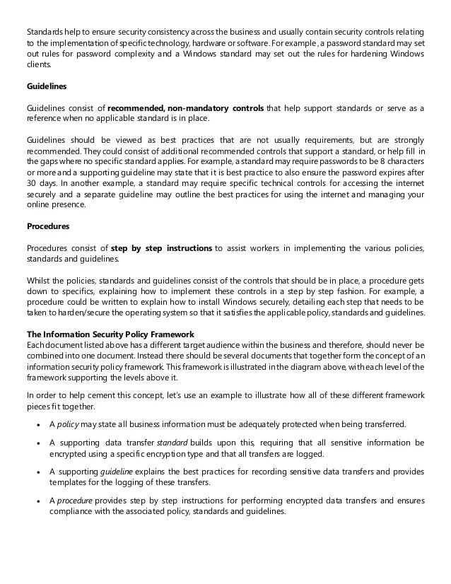 Policy And Procedure Examples Free Download