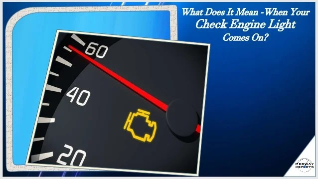 why the check engine light comes on. Black Bedroom Furniture Sets. Home Design Ideas