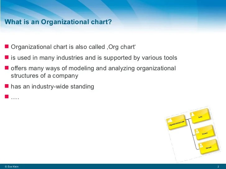 What also is an organizational chart rh slideshare