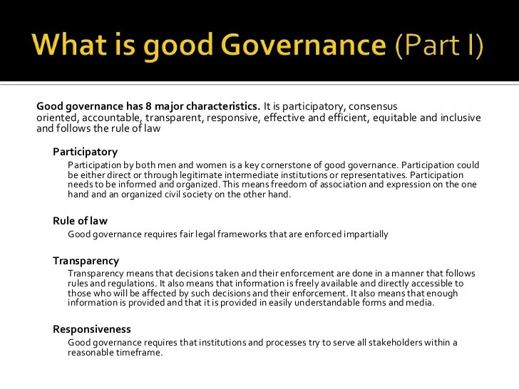What Is It Governance Introduction