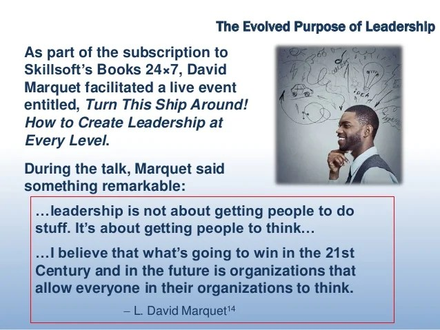 What Is Leadership Is The Wrong Question