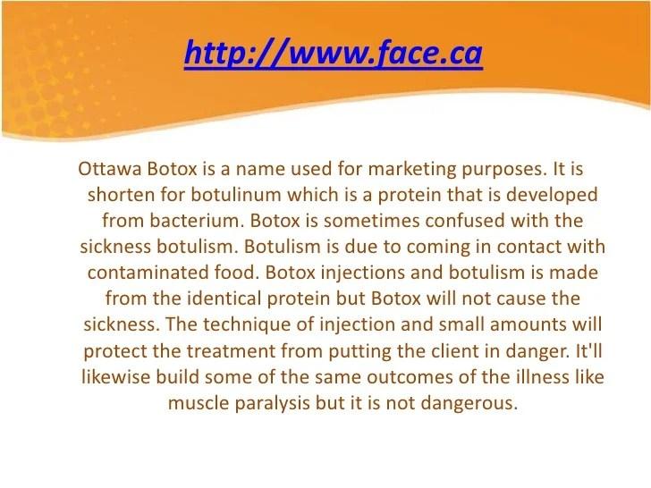 What is ottawa botox procedure?