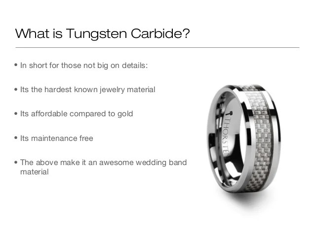 What Is Tungsten Carbide