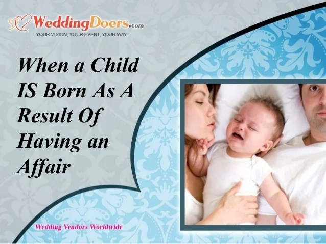 when a child is