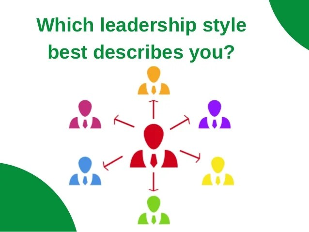 Which Leadership Style Best Describes You