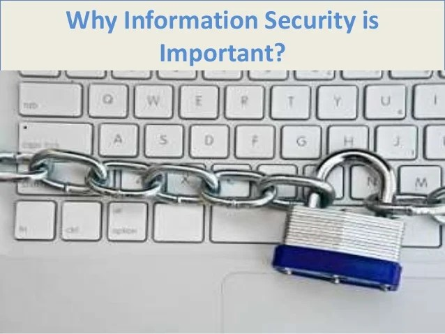 Why Security Important