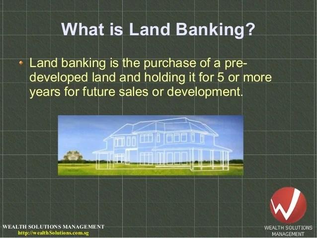 Image result for landbanking