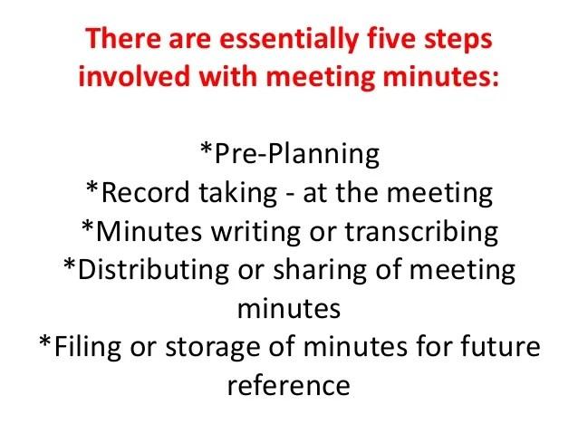 transcribing meeting minutes