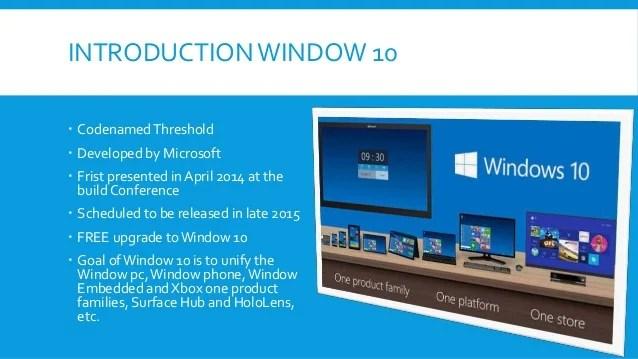 Window 10 Ppt