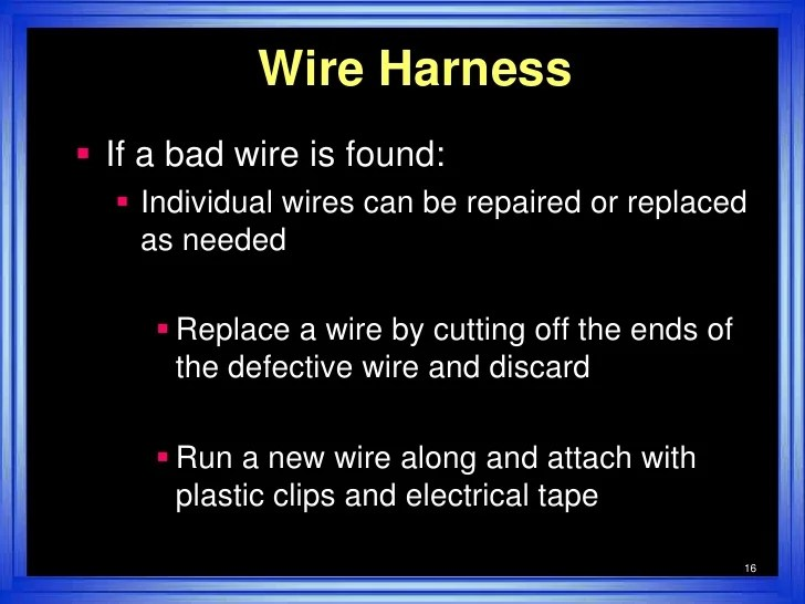 Wire Harness Test Simple
