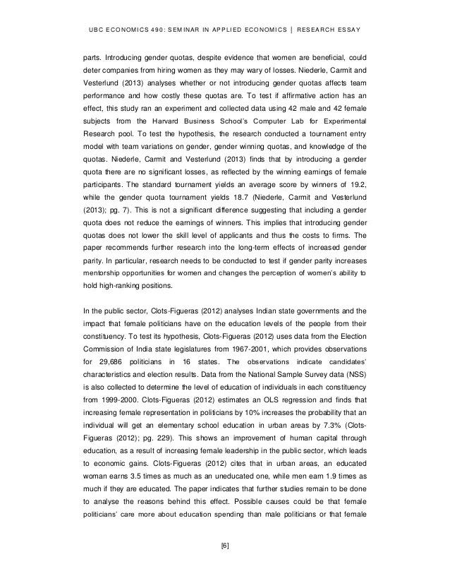 Women Leading Growth An Empirical Analysis On The Effects Of Women I