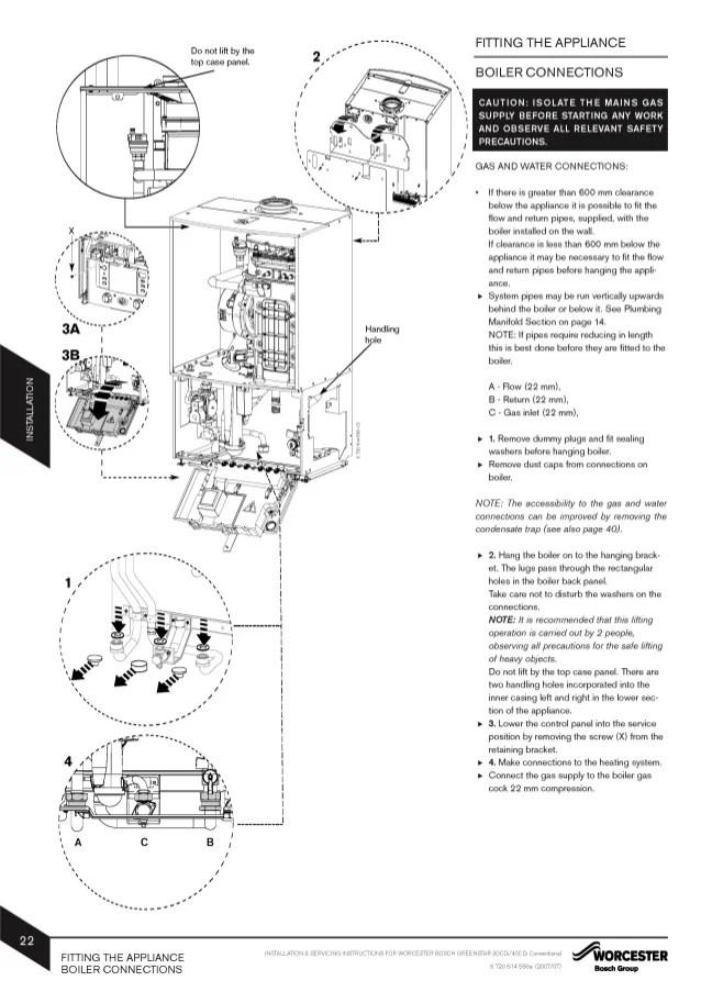wiring diagram for worcester boiler