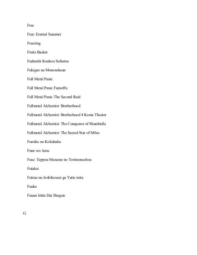 Download Fukigen Na Mononokean Sub Indo : download, fukigen, mononokean, Streaming, Fullmetal, Alchemist, Brotherhood, Dalam