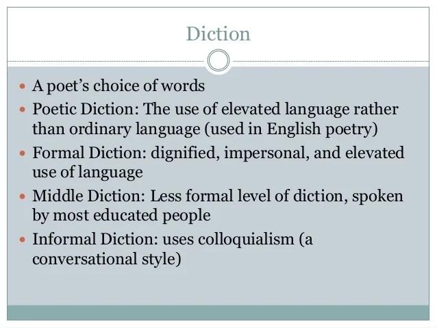 Word Choice Word Order & Tone