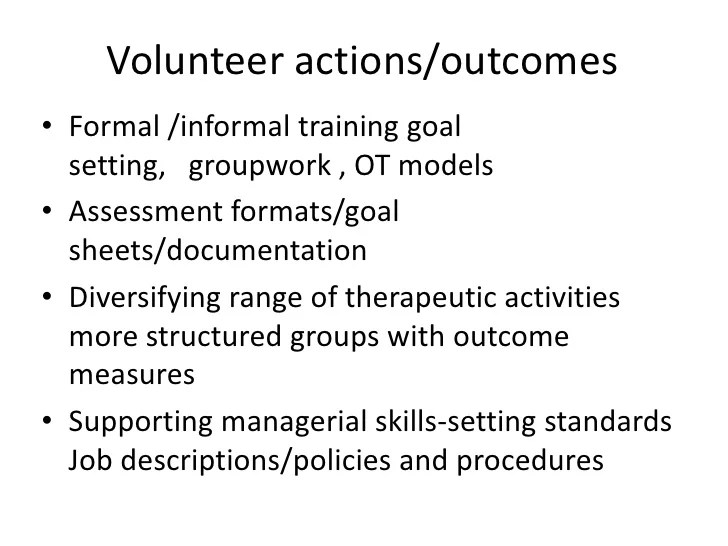 Working as a Volunteer Occupational Therapist in Sri Lanka