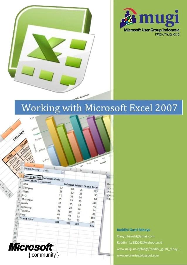 Belajar Excel Pdf : belajar, excel, Ebook, Lengkap, Microsoft, Excel