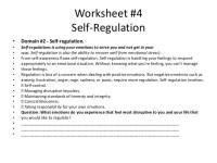 emotional regulation worksheets | Adcontessa
