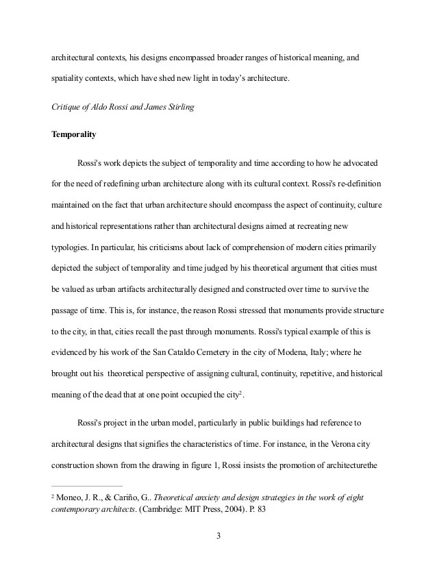 Sample Of Critique Essay Essay Critique Example Sample Movie