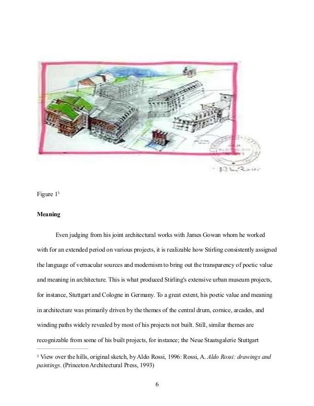 Architectural Essay Architectural Essay Artificial Topography Rdquo