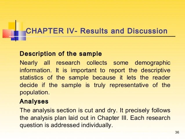 Results And Discussion Section Dissertation Research Paper Help
