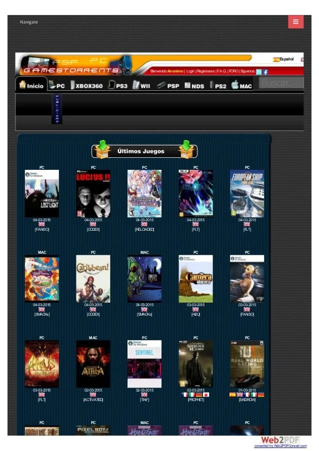 Gamestorrents Bittorrent Juegos Pc Ps2 Psp Xbox360