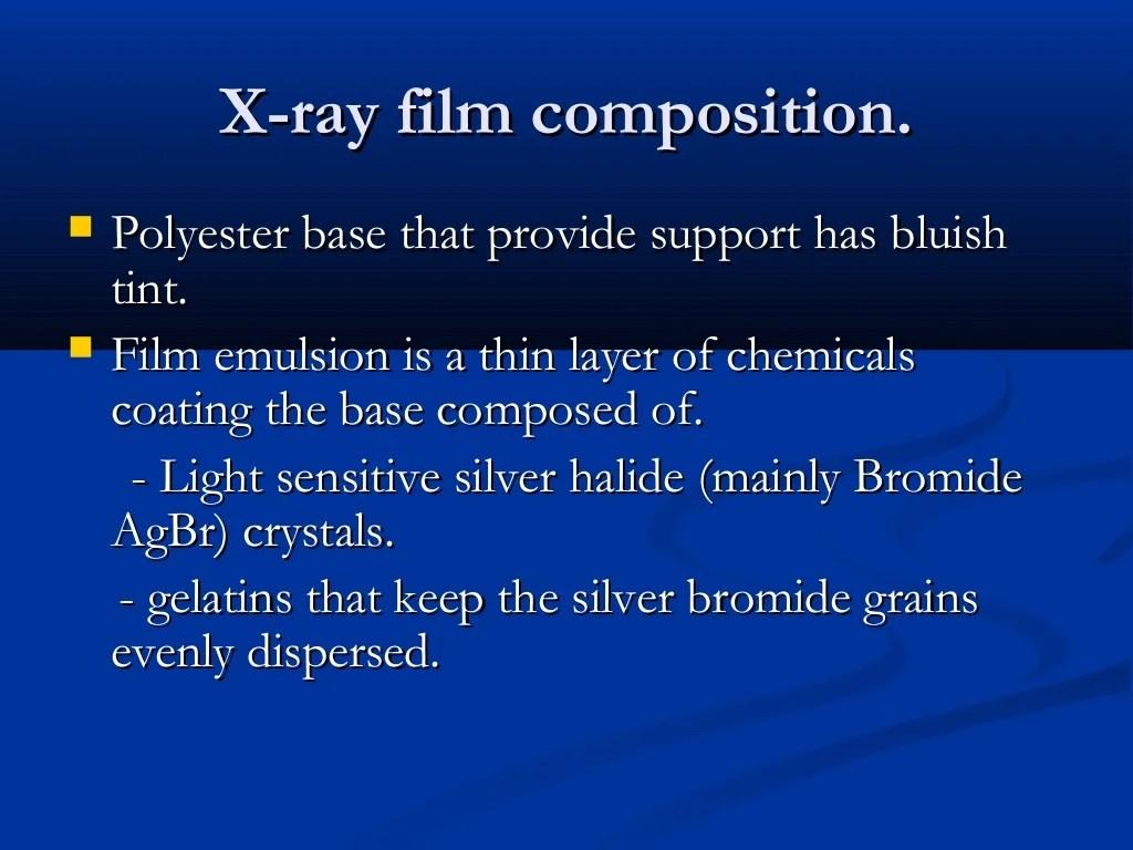 X Ray Physics